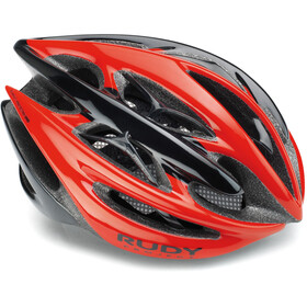 Rudy Project Sterling + Kask rowerowy, red - black shiny
